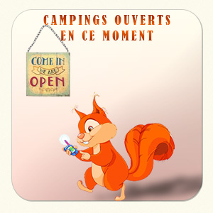 Campings ouverts